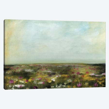 Floral Fields II Canvas Print #NMC177} by Naomi McCavitt Canvas Print