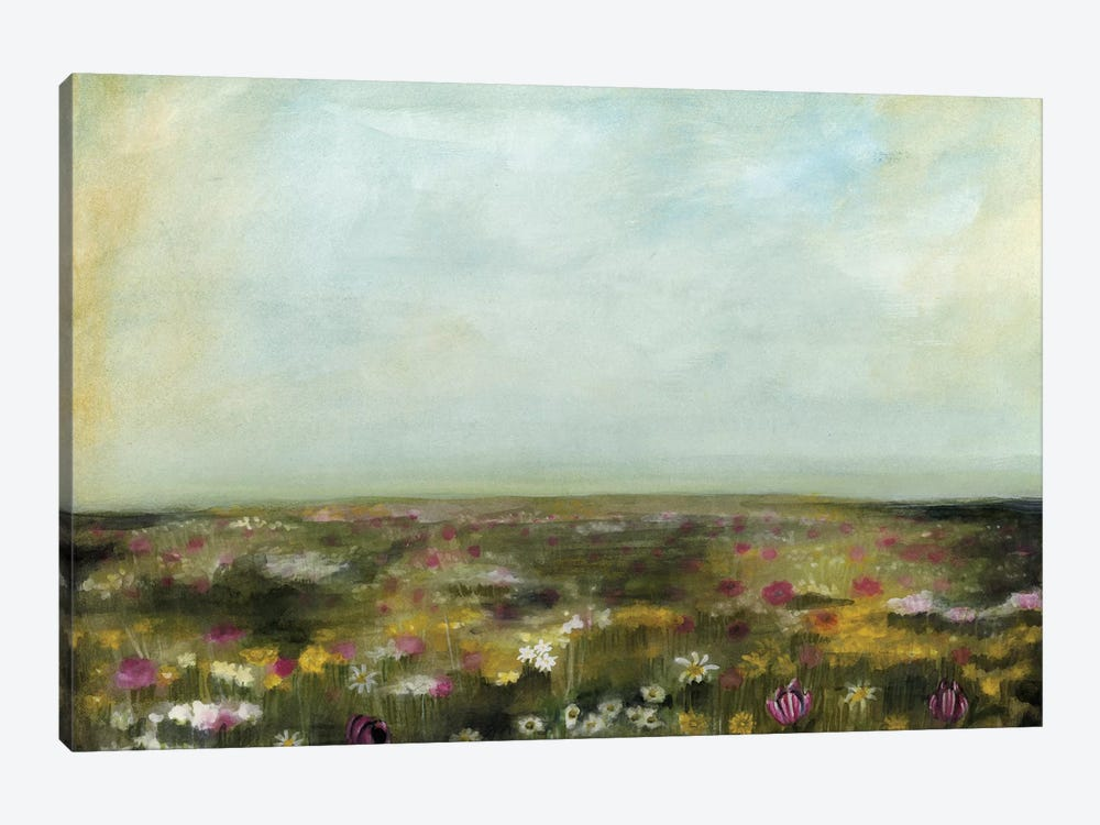 Floral Fields II 1-piece Art Print
