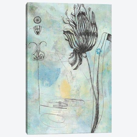 Botanical Abstract I 3-Piece Canvas #NMC191} by Naomi McCavitt Canvas Artwork