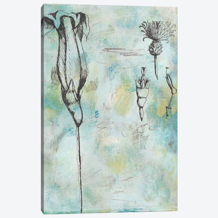 Botanical Abstract II 3-Piece Canvas #NMC192} by Naomi McCavitt Canvas Art