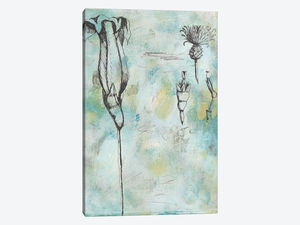 Botanical Abstract II 1-piece Canvas Artwork