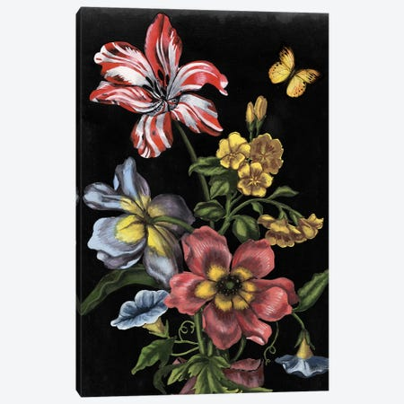 Dark Floral I Canvas Print #NMC195} by Naomi McCavitt Art Print