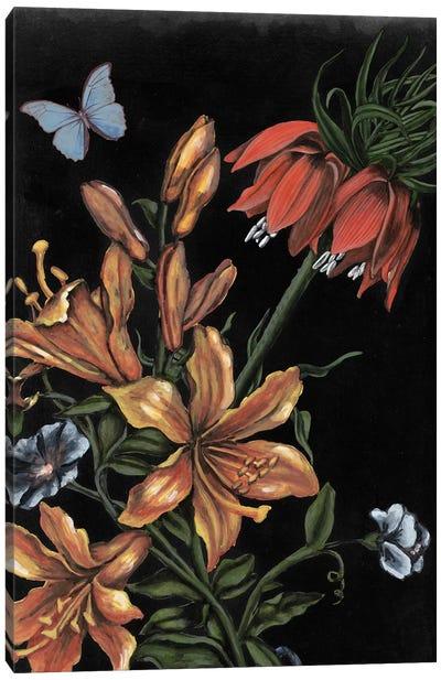Dark Floral II Canvas Art Print
