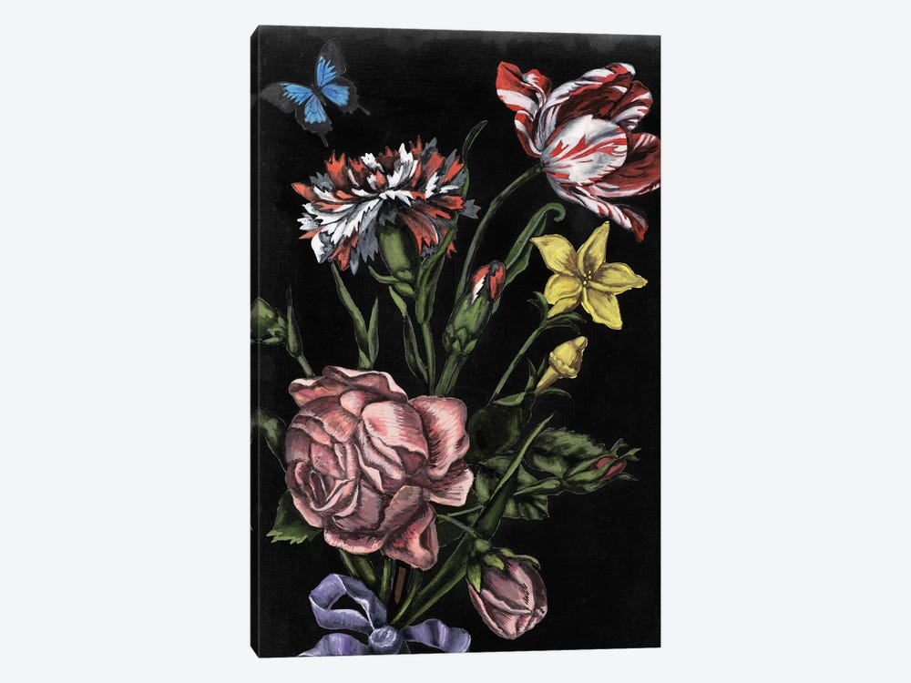 Dark Floral IV by Naomi McCavitt 1-piece Canvas Wall Art