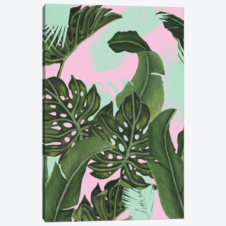 Neon Jungle I Canvas Print #NMC203} by Naomi McCavitt Canvas Artwork