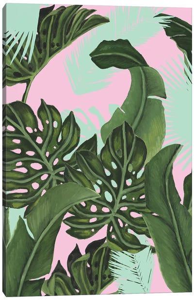 Neon Jungle I Canvas Art Print