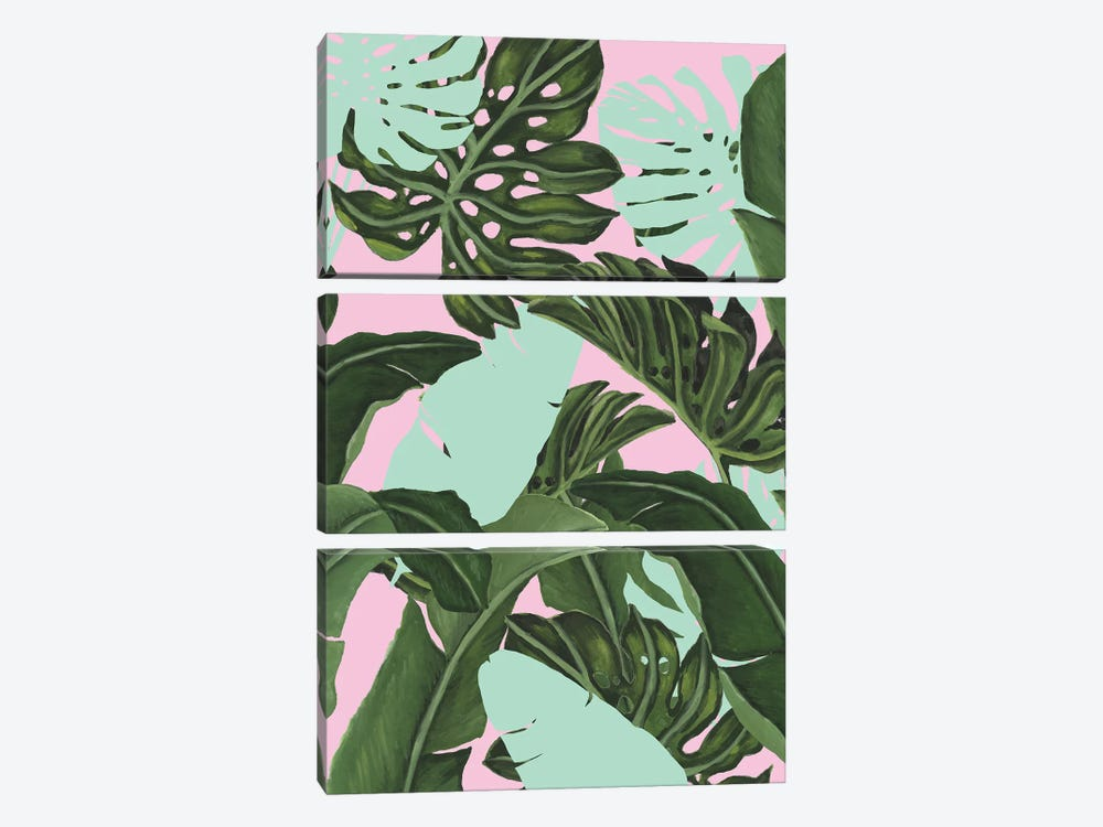 Neon Jungle II by Naomi McCavitt 3-piece Art Print