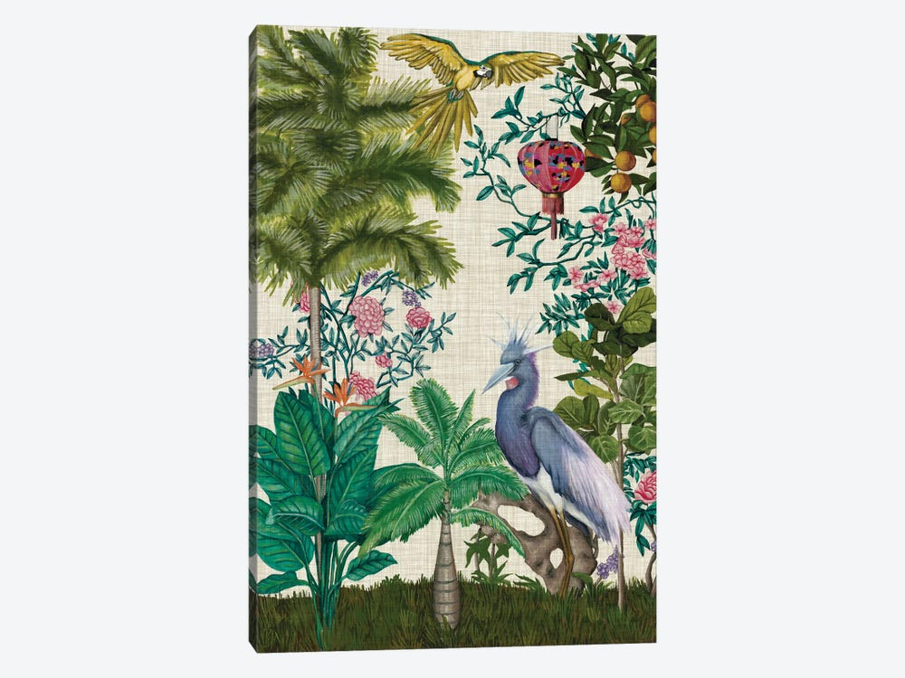 Paradis Chinoiserie I 1-piece Canvas Art