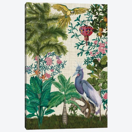 Paradis Chinoiserie I Canvas Print #NMC205} by Naomi McCavitt Canvas Art Print