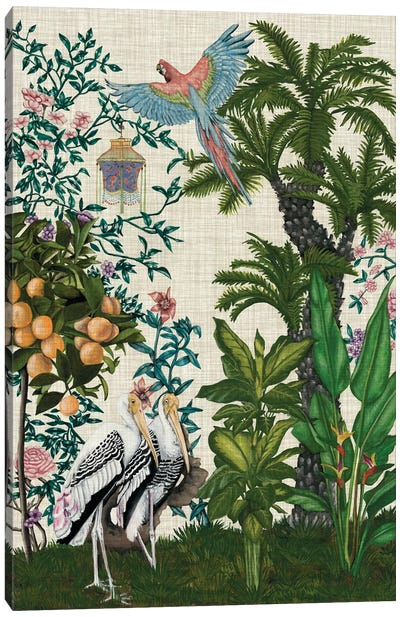 Paradis Chinoiserie II Canvas Art Print