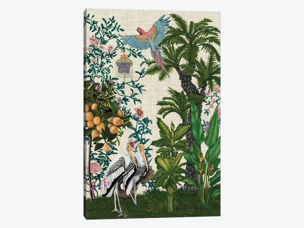 Paradis Chinoiserie II by Naomi McCavitt 1-piece Canvas Print