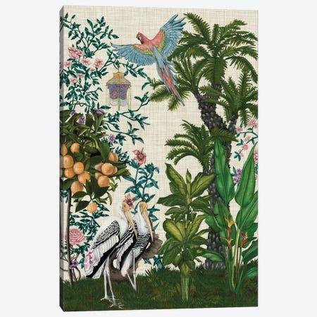 Paradis Chinoiserie II 3-Piece Canvas #NMC206} by Naomi McCavitt Canvas Print