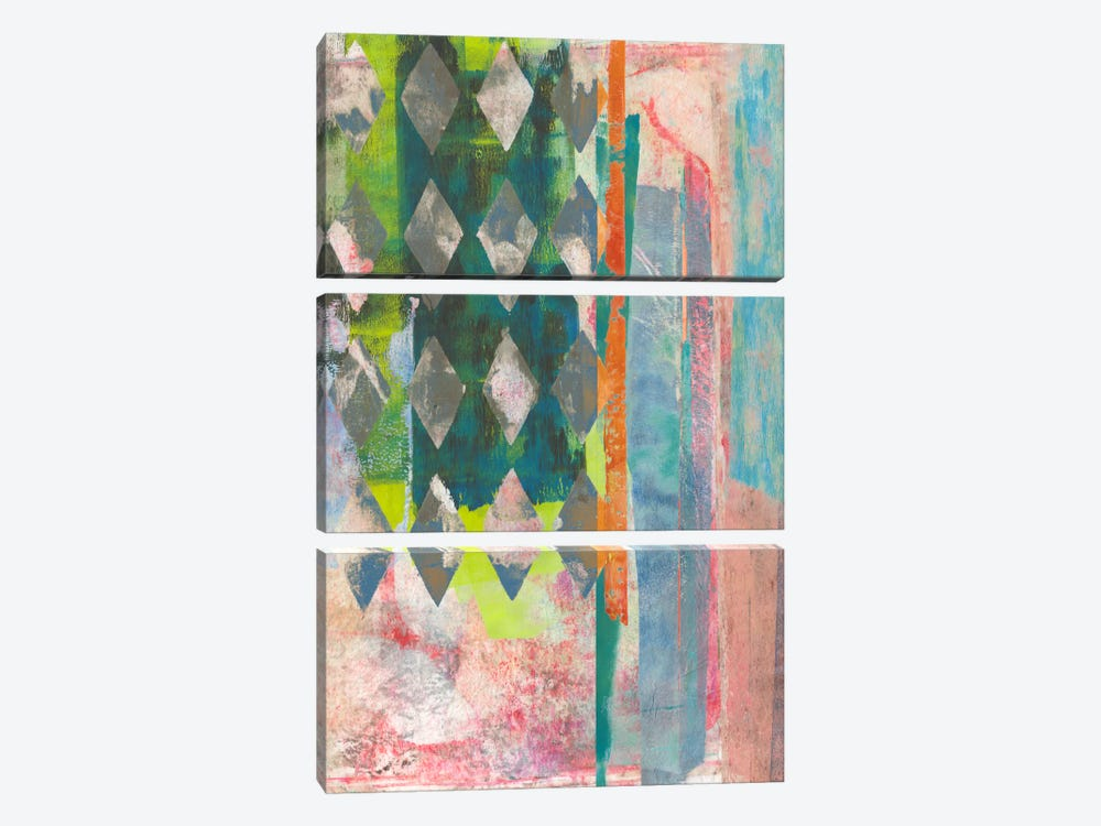 Chartreuse Afternoon II by Naomi McCavitt 3-piece Canvas Artwork