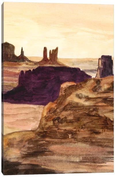 Desert Diptych II Canvas Art Print