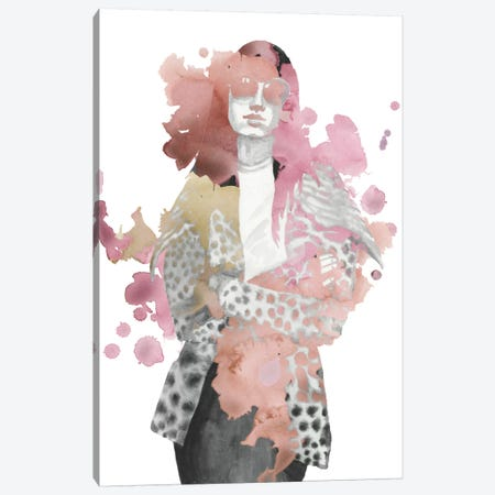 Fashion Illustration I Canvas Print #NMC23} by Naomi McCavitt Canvas Wall Art