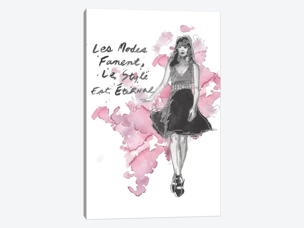 Fashion Quotes II by Naomi McCavitt 1-piece Canvas Art Print