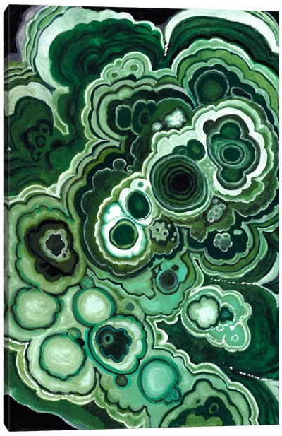 Malachite I Canvas Art Print