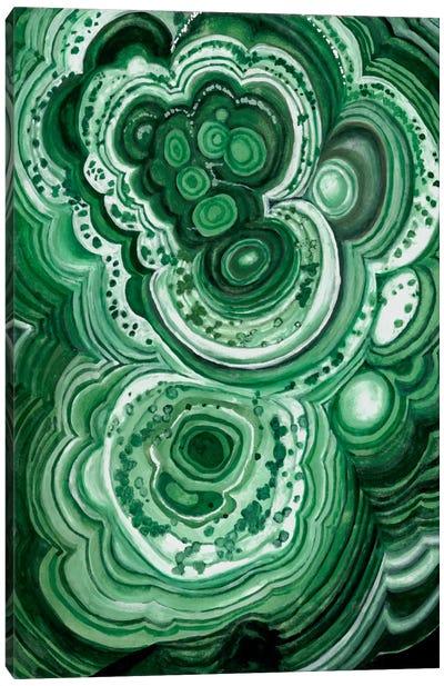 Malachite II Canvas Art Print