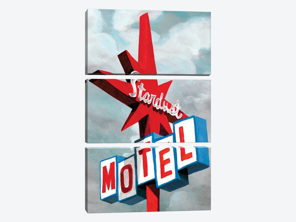 American Roadside VI by Naomi McCavitt 3-piece Canvas Art