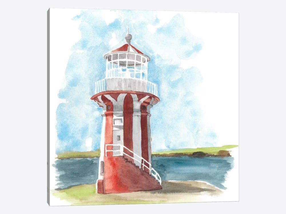 Watercolor Lighthouse III by Naomi McCavitt 1-piece Art Print