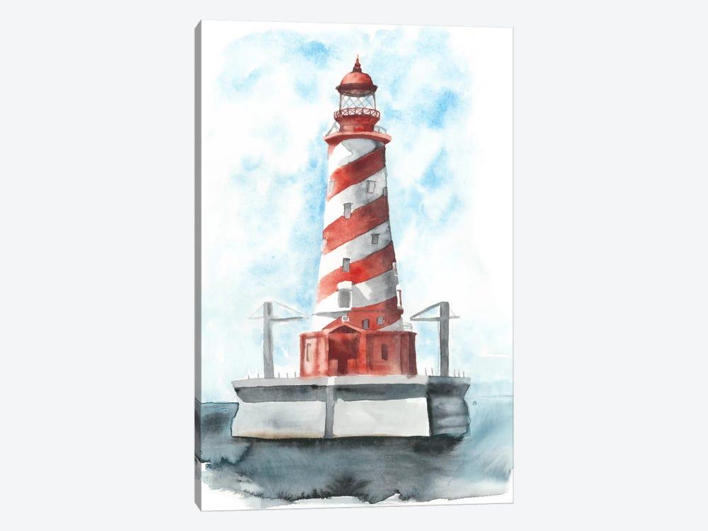 Watercolor Lighthouse IV by Naomi McCavitt 1-piece Canvas Art