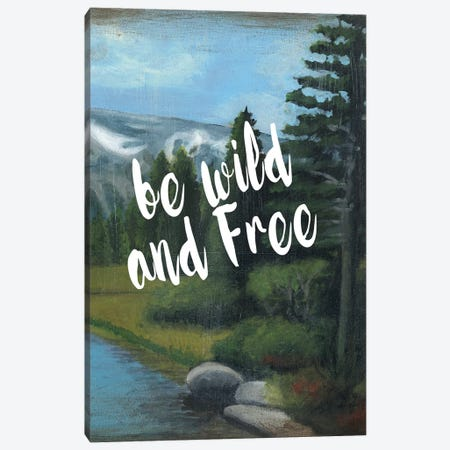 Adventure Typography II Canvas Print #NMC79} by Naomi McCavitt Canvas Art Print