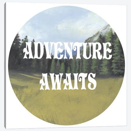 Adventure Typography III Canvas Print #NMC80} by Naomi McCavitt Canvas Art