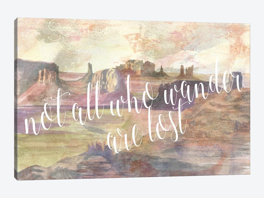 Adventure Typography IV by Naomi McCavitt 1-piece Canvas Print