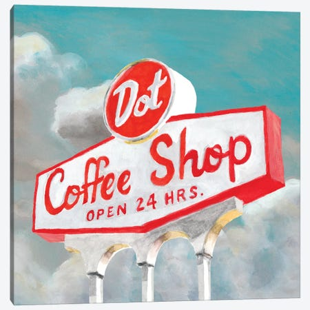 American Roadside VIII Canvas Print #NMC8} by Naomi McCavitt Canvas Artwork