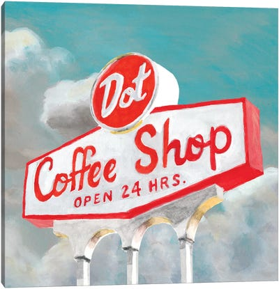 American Roadside VIII Canvas Art Print