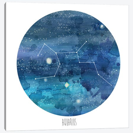 Aquarius Canvas Print #NMC92} by Naomi McCavitt Canvas Art Print