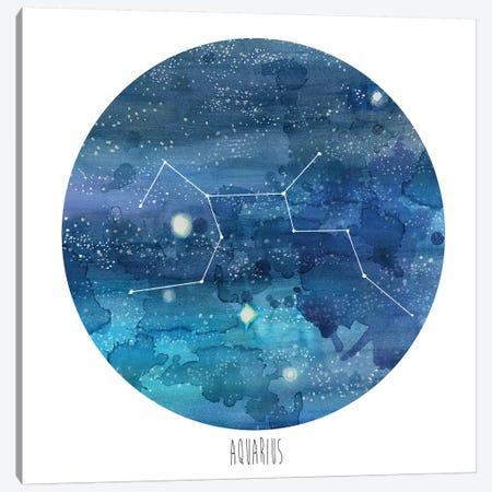 Aquarius Canvas Print #NMC92} by Naomi McCavitt Canvas Art Print