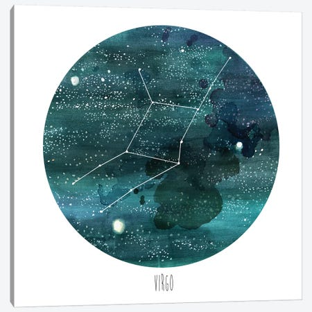 Virgo Canvas Print #NMC95} by Naomi McCavitt Canvas Art