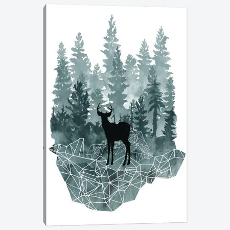 Faceted Animals I Canvas Print #NMC98} by Naomi McCavitt Canvas Print