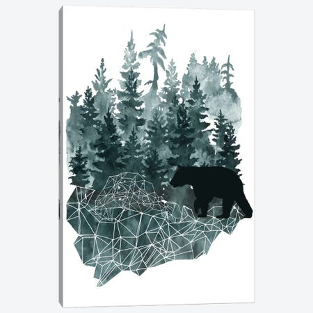 Faceted Animals II Canvas Print #NMC99} by Naomi McCavitt Canvas Art Print