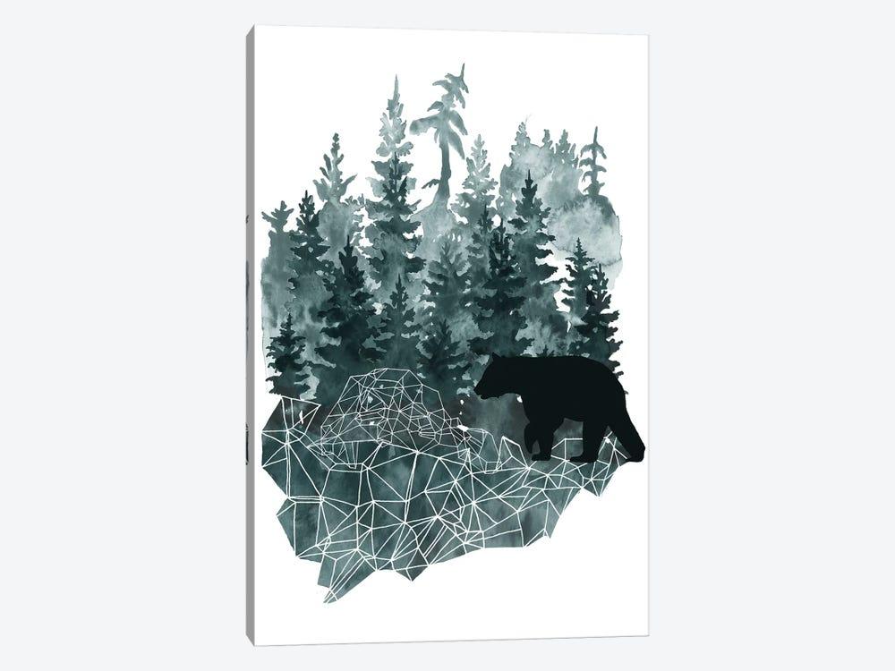 Faceted Animals II by Naomi McCavitt 1-piece Canvas Wall Art