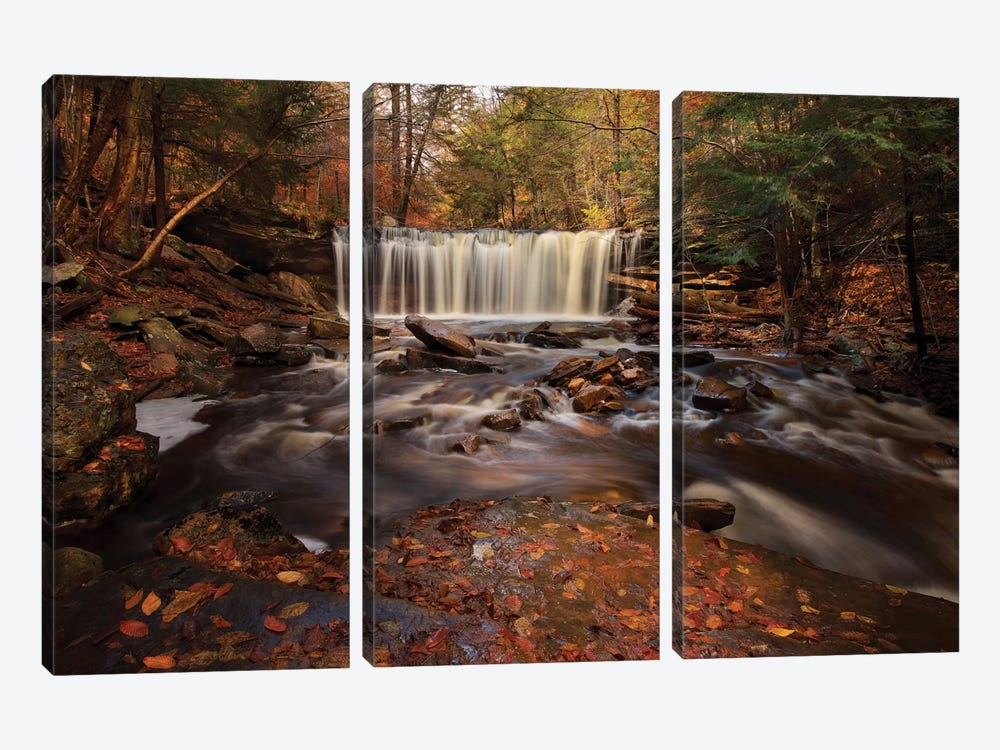 Rushing Water 3-piece Canvas Art Print