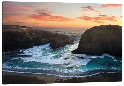 Coastal Glow Canvas Art Print