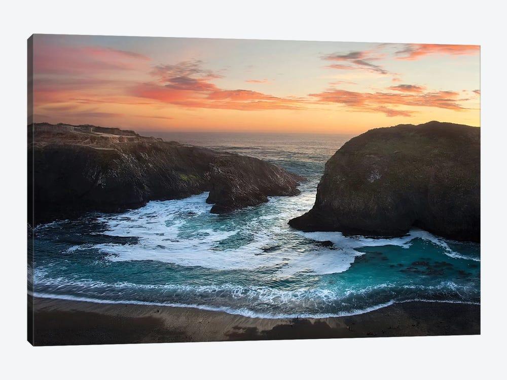 Coastal Glow by Natalie Mikaels 1-piece Canvas Print