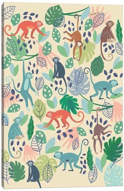 Jungle Chums IV Canvas Art Print