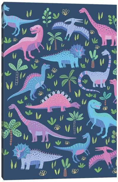 Dino Fun II Canvas Art Print