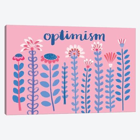 Optimism Canvas Print #NMK21} by Nancy Mckenzie Canvas Artwork