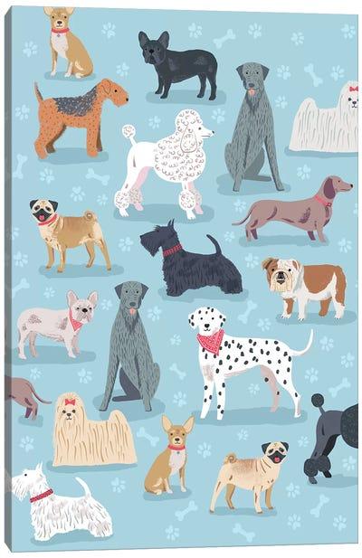 Everyday Dog And Bone I Canvas Art Print