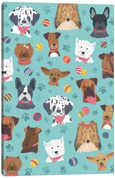 Everyday Dog And Bone II Canvas Art Print