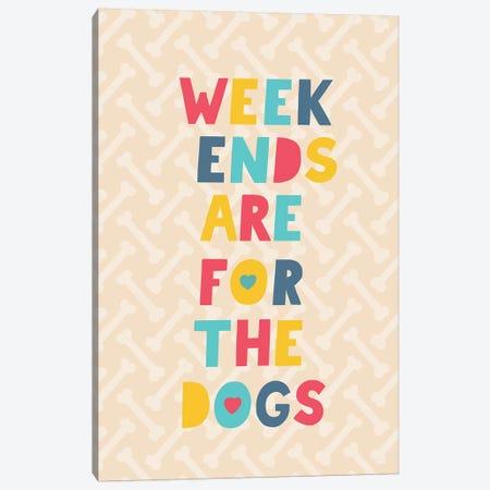 Everyday Dog And Bone IV Canvas Print #NMK25} by Nancy Mckenzie Canvas Print