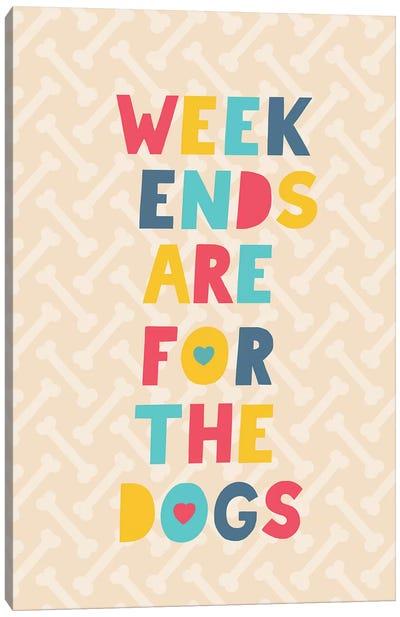 Everyday Dog And Bone IV Canvas Art Print