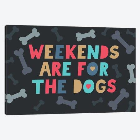 Everyday Dog And Bone  V Canvas Print #NMK26} by Nancy Mckenzie Canvas Art Print
