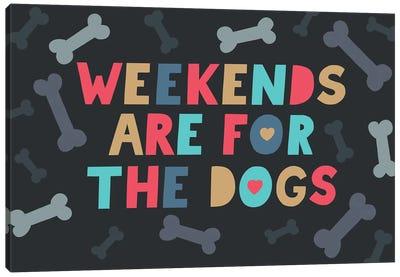 Everyday Dog And Bone  V Canvas Art Print