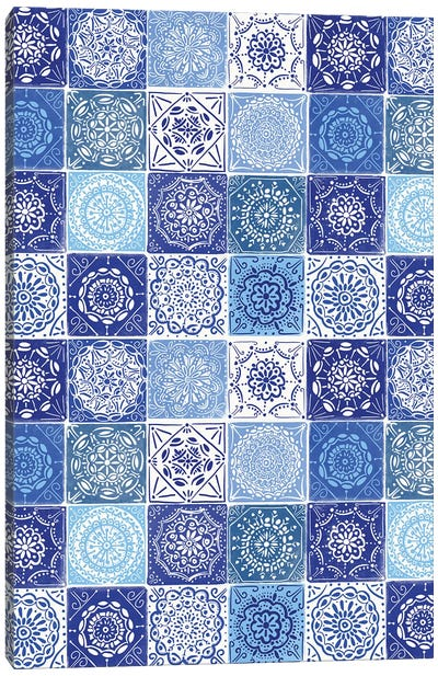 Home Blue Kitchen I Canvas Art Print