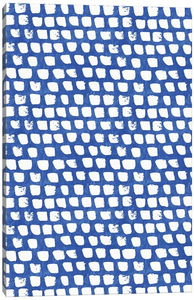Home Blue Kitchen III Canvas Art Print